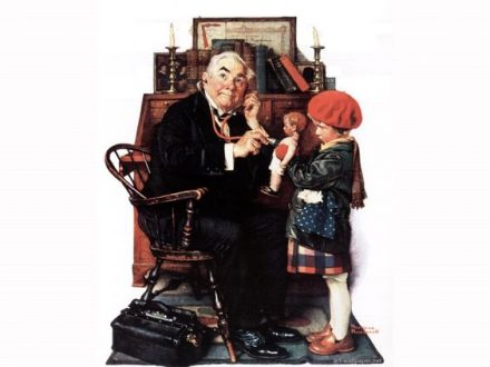 Doctor and Doll, de Norman Rockwell