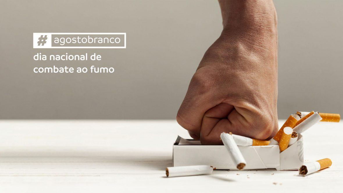Agosto Branco: tabagismo é o principal fator de risco para o câncer de pulmão