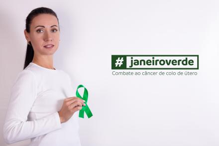 Janeiro Verde: mês de prevenção ao câncer do colo de útero